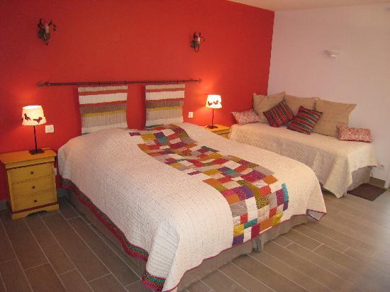 Les Terrasses du Luberon : chambre 3