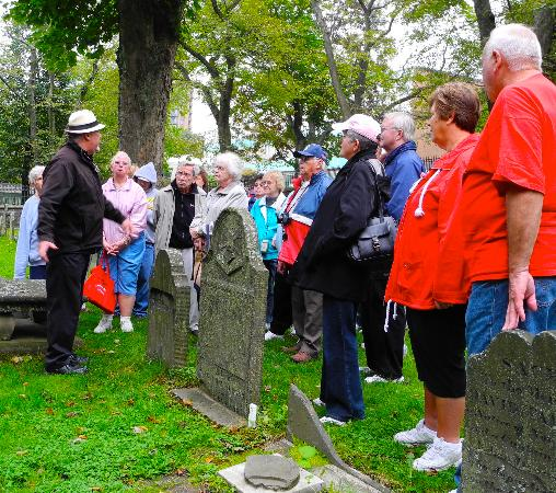 Ghost Walk of Historic Halifax: Touring a haunted graveyard in Halifax with Andy Smith.