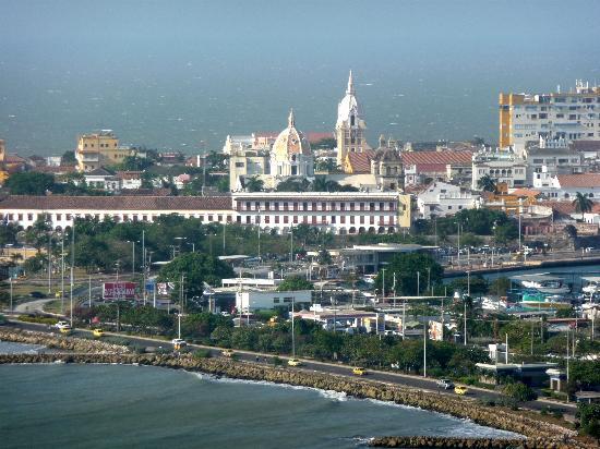 Decameron Cartagena: vue du balcon
