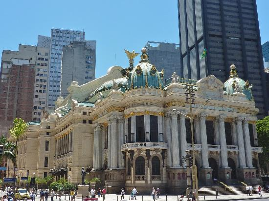 Theatro Municipal do Rio de Janeiro : Theatro Municipal - Centro do Rio de Janeiro