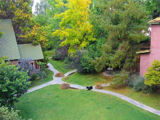 Casa Glebinias: Vista parcial alojamientos