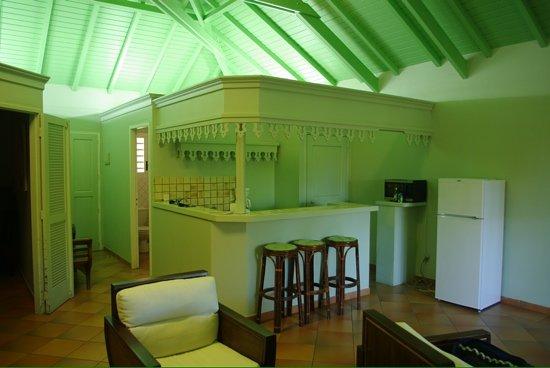 Hotel La Plantation : la suite - cuisinette