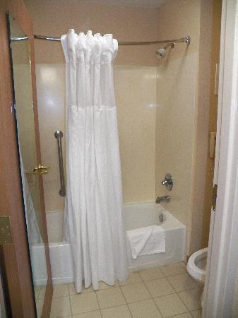 Best Western Plus Slidell Hotel: small bathroom