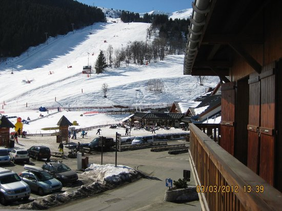 Chalet Les Grangettes : view from room 18