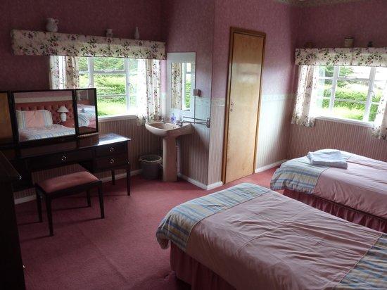 Port Howard, Ilhas Malvinas: Blick in ein Zimmer