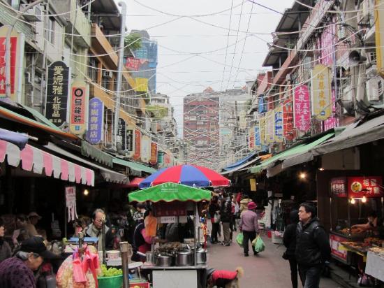 JV's Hostel: Der nahegelegene Nachtmarkt