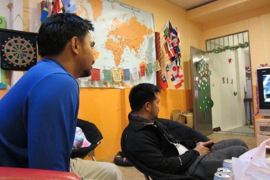 JV's Hostel: Im Aufenthaltsraum