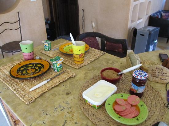 Casa Guapa de Tamuziga: Unser erstes Frühstück