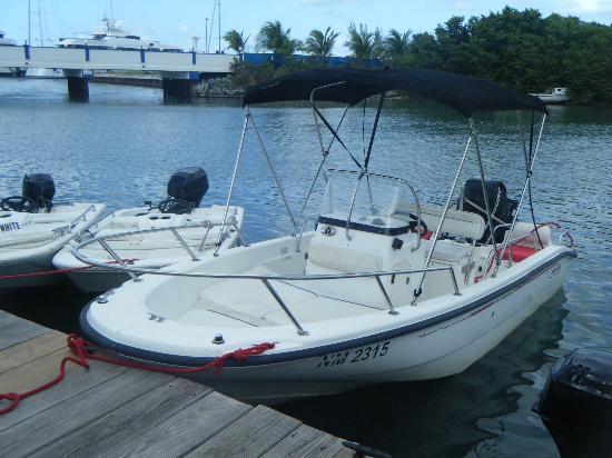 Our 16 Boston Whaler Picture Of Boathouse Boat Rentals Sxm Simpson Bay Tripadvisor