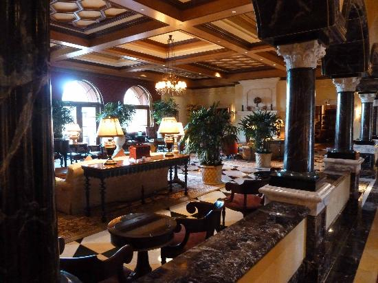 Fairmont Grand Del Mar : Le lobby