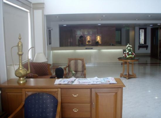 Arcadia Regency Hotel Alleppey: reception, Arcadia Regency