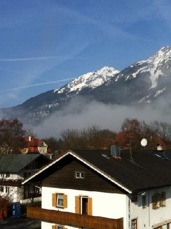 Hotel Almrausch: Blick aus dem Fenster