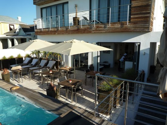 Dysart Boutique Hotel: Pool Deck