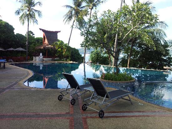 Panwa Boutique Beach Resort: vue de la piscine