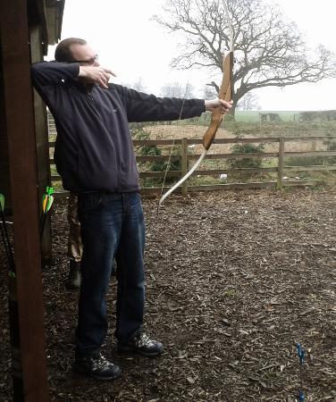 Lutterworth, UK: Archery