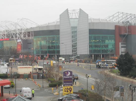 Trafford, UK: view from room