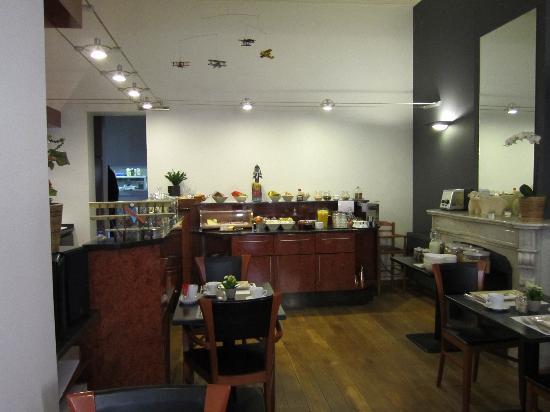 Hotel Restaurant Loreto: Cafetería