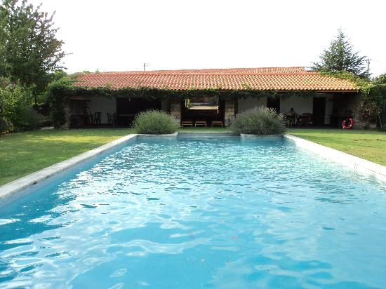 Casa de Santo Antonio de Britiande: Pool area