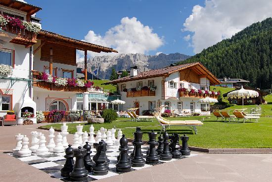 Hotel Welponer: giardino