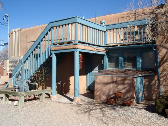 Inn at Pueblo Bonito Santa Fe: View from the back of Pueblo Bonito