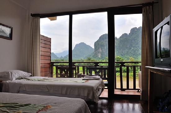 The Elephant Crossing Hotel: All about the view