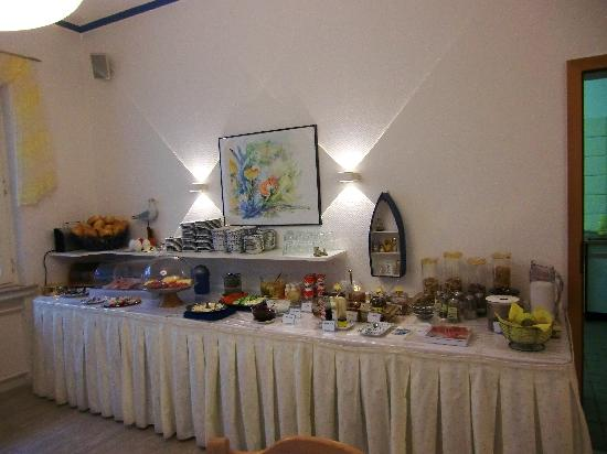 Hotel Ostfriesland garni: Frühstücksbuffet
