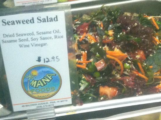 Mana Foods : Seaweed Salad