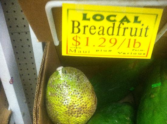 Mana Foods : Bread fruit!