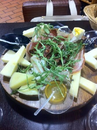 Acqua Restaurant : tagliere...
