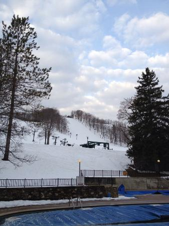 Boyne Mountain Resort: View from window