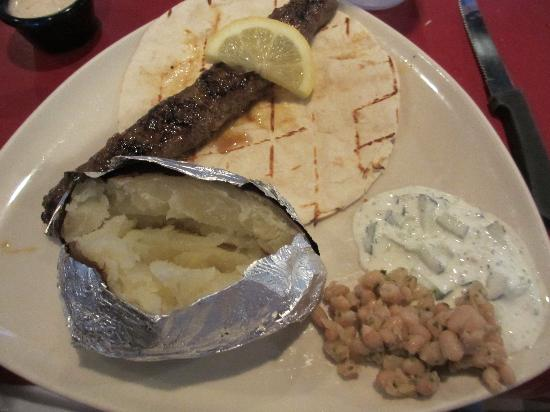 Ground Beef Kabob - Picture of Something Different, Asheboro ...