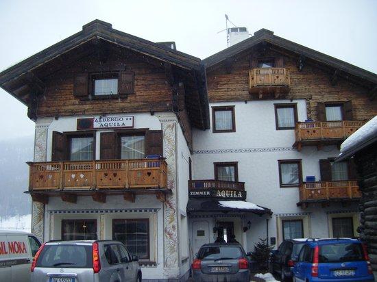 Hotel Aquila: vista frontale
