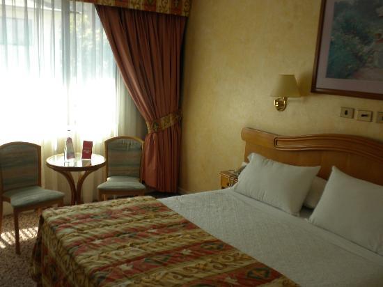 Hotel Torremayor Lyon: Habitación matrimonial muy cómoda