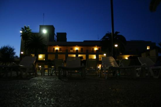 Sardara, Italien: Facciata dell'hotel