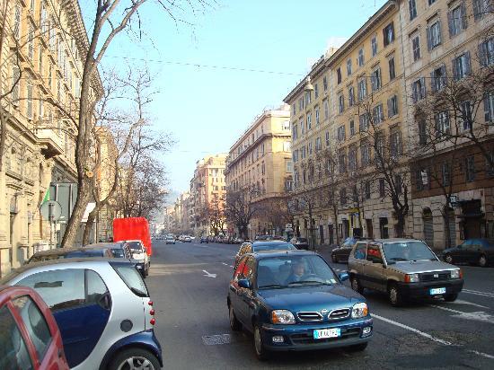 B&B Bibi e Romeo's Home: Via Andrea Doria, a few blocks from the Vatican Museums.