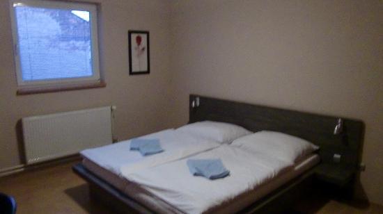 Penzion Horse Inn : ツイン&ダブルルームのシングル使用です