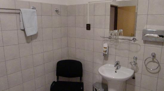 Penzion Horse Inn : バスルーム内の洗面台です