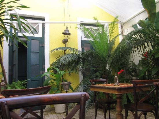 Villa Bahia: terrasse interieure