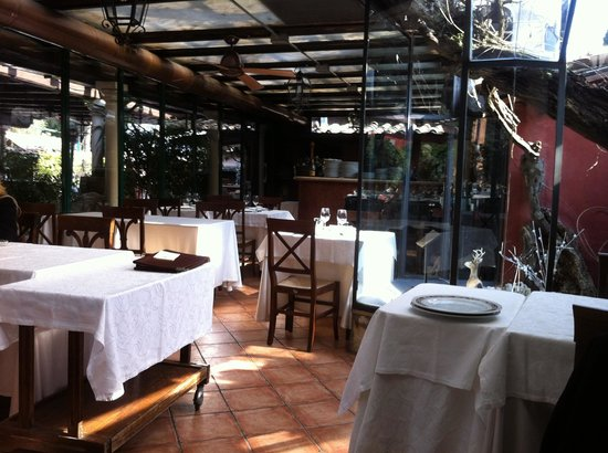 L'Archeologia : The patio area