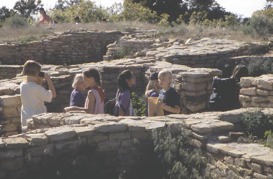 The Anasazi Heritage Center: Children at Escalante Pueblo, Anasazi Heritage Center
