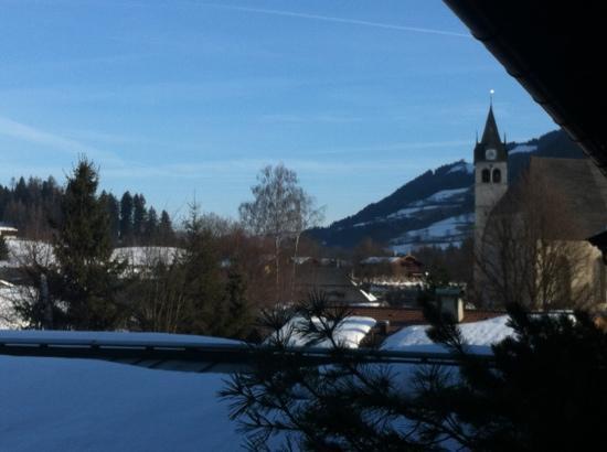 Hotel Villa Licht: Blick vom Balkon