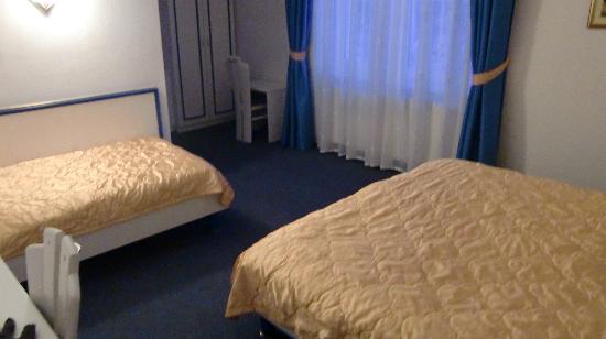 Garni Hotel Vila Bojana: トリプルルームのシングル使用です