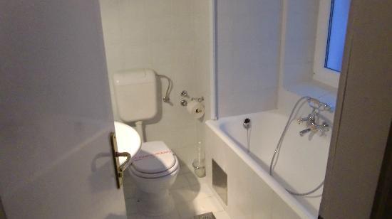 Garni Hotel Vila Bojana: バスルームです