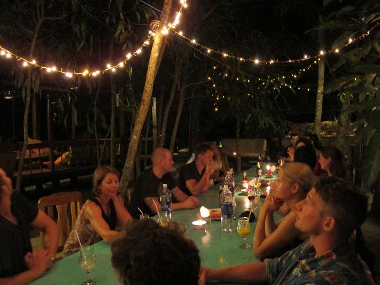 Freedomland Phu Quoc Resort: Family dinner.