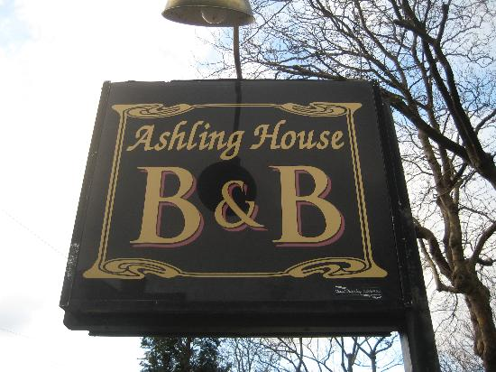 Ashling House sign