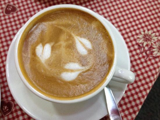 Le Café de Paris: great coffee. can you feel the love?