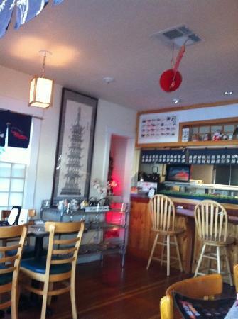 Kitani Sushi: interior