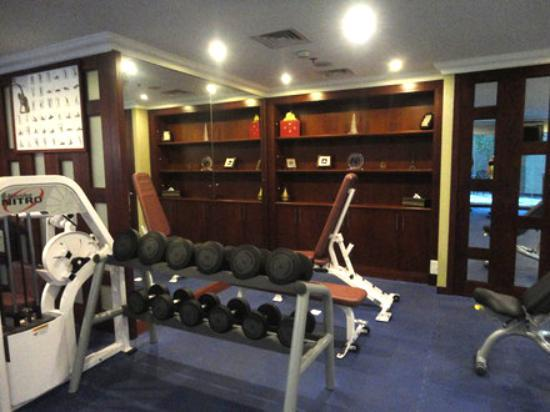 Al Sondos Suites: GYM