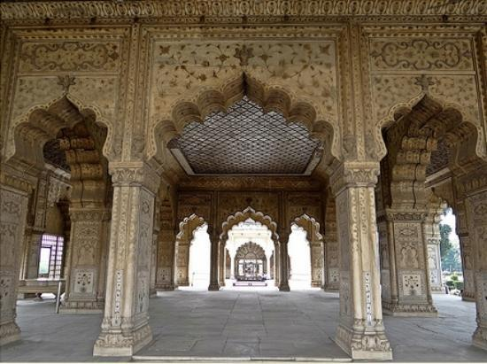 Diwan e khas at the red fort picture of red fort lal for Diwan design 2018