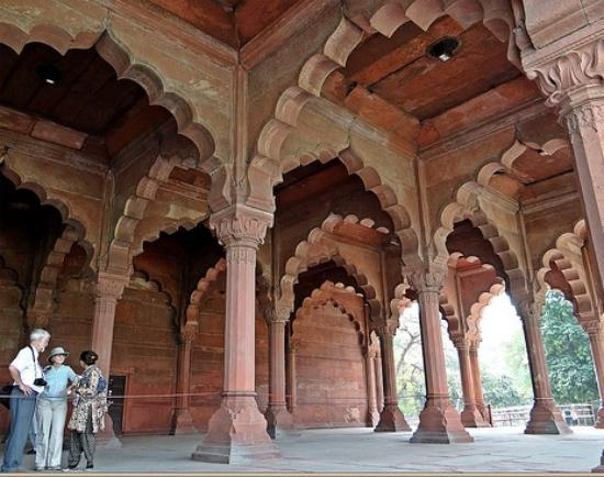 Diwan e aam at the red fort picture of red fort lal for Diwan i aam images